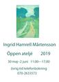 Svenska konstnärer: Ingrid Hamrell-Mårtensson